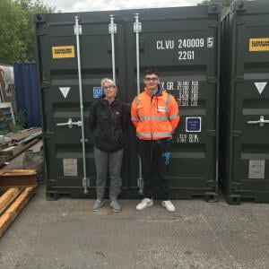 Cleveland Containers 5 star review on 28th June 2021