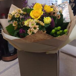 Interflora UK 5 star review on 16th January 2021