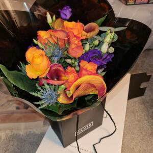 Haute Florist 5 star review on 9th April 2021