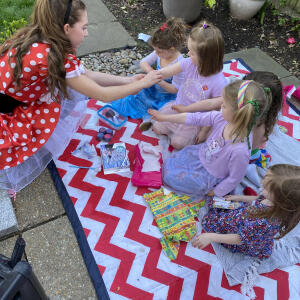 Happy Kinder Parties 5 star review on 14th April 2021