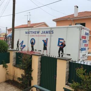 Matthew James Global Relocations Ltd 5 star review on 25th June 2019