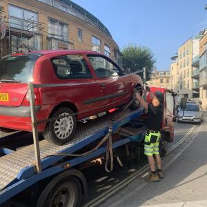 Abbey Scrap Cars 5 star review on 6th September 2021