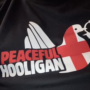 Peaceful Hooligan 5 star review on 10th July 2021
