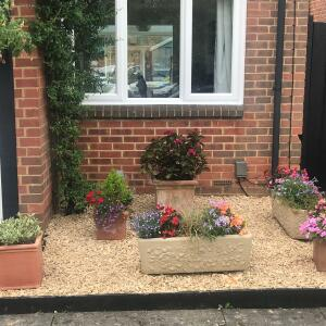 DecorativeGardens.co.uk 4 star review on 1st August 2019