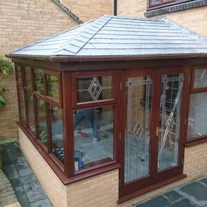 Tiled Roof Conservatories 5 star review on 5th December 2020