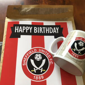 Personalised Football Gifts 5 star review on 16th June 2020