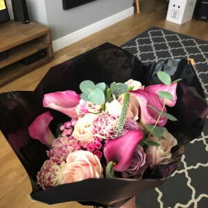 Haute Florist 5 star review on 2nd March 2021
