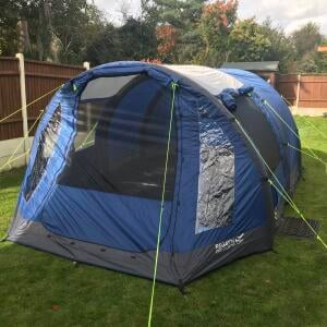 Wow Camping 5 star review on 27th October 2020