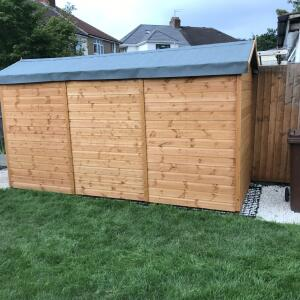 Sheds 2 go  5 star review on 13th August 2021