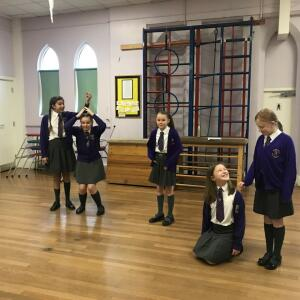 West End in Schools 5 star review on 6th December 2020