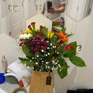 Interflora UK 5 star review on 13th January 2021