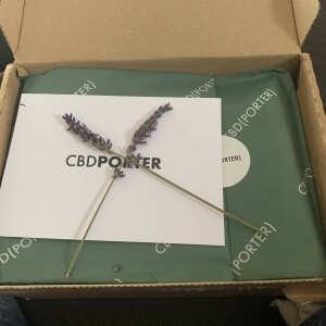 CBD Porter 5 star review on 31st October 2020