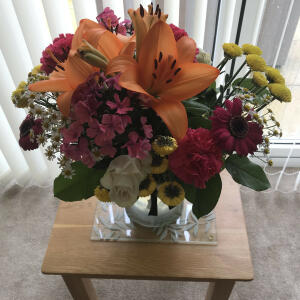 Interflora UK 5 star review on 27th July 2021
