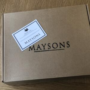 MAYSONS 5 star review on 18th January 2021