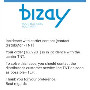 www.bizay.co.uk 1 star review on 18th February 2020