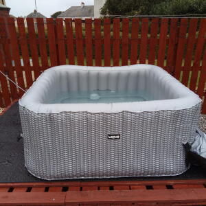 Wave Spas 5 star review on 14th September 2020