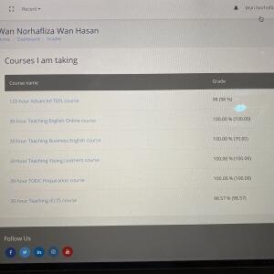 Premier TEFL  5 star review on 29th July 2020