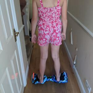 Official Hoverboard 5 star review on 1st August 2020