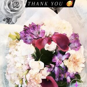 Verdure Floral Design Ltd 5 star review on 2nd August 2021