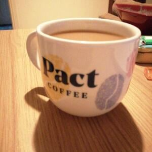 Pact Coffee 5 star review on 1st December 2020