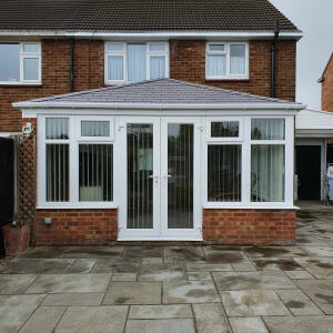 Oakdene Solid Conservatory Roofs 5 star review on 5th May 2021