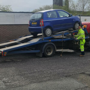 Abbey Scrap Cars 5 star review on 28th May 2021