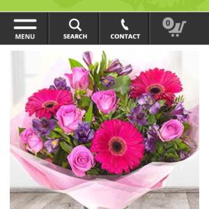 EFlorist 1 star review on 8th May 2018