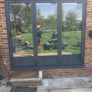 Express Bi-Folding Doors Leeds 5 star review on 18th May 2019