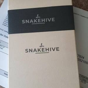 Snakehive 5 star review on 5th July 2021