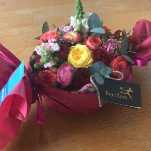 Interflora UK 5 star review on 8th April 2021