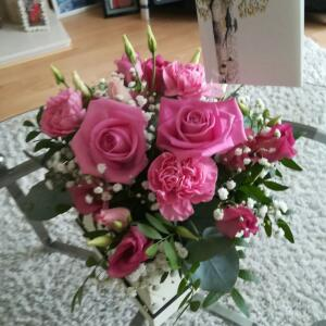 Williamson's My Florist 5 star review on 16th May 2021