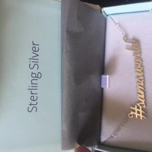 Name Necklaces Direct 5 star review on 2nd September 2018
