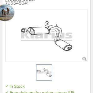 Euro Car Parts 5 star review on 29th April 2021