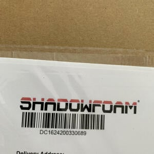 Shadow Foam Limited 5 star review on 11th July 2021