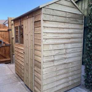 Sheds.co.uk 5 star review on 3rd April 2021