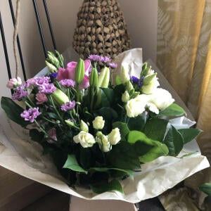 Williamson's My Florist 5 star review on 2nd April 2021