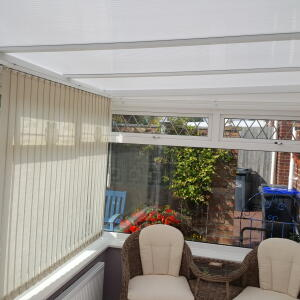 Comfortable Conservatories 5 star review on 16th August 2016