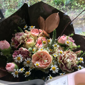 Haute Florist 5 star review on 12th April 2021