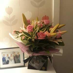 Williamson's My Florist 5 star review on 1st September 2019