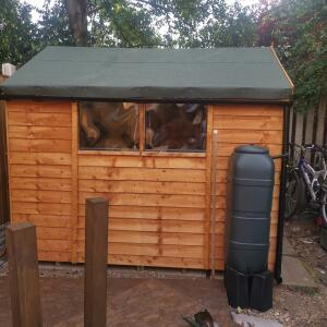 Sheds.co.uk 5 star review on 24th July 2021