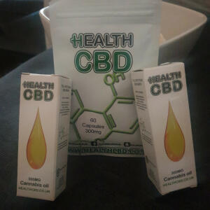 Health CBD LTD 5 star review on 9th June 2020