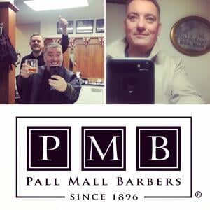 Pall Mall Barbers 5 star review on 4th March 2018