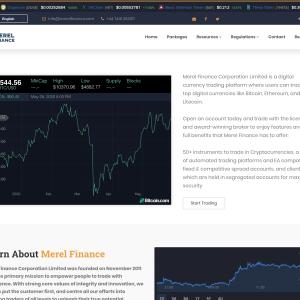 merelfinance.com 5 star review on 29th May 2020