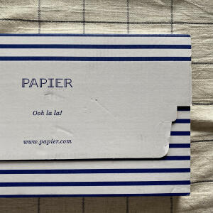 Papier 5 star review on 23rd October 2020