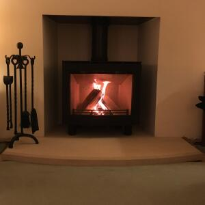 Manor House Fireplaces 5 star review on 6th December 2020
