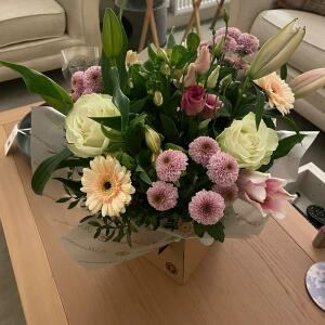 Williamson's My Florist 5 star review on 10th April 2021