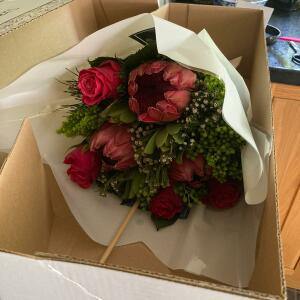 Prestige Flowers 5 star review on 1st August 2021
