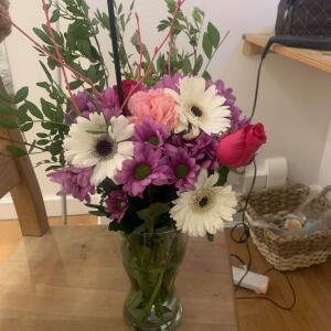 B&M Flowers 5 star review on 9th April 2021