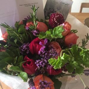 The Real Flower Company 5 star review on 6th August 2019