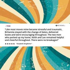 Britannia Quickmove  5 star review on 14th September 2020